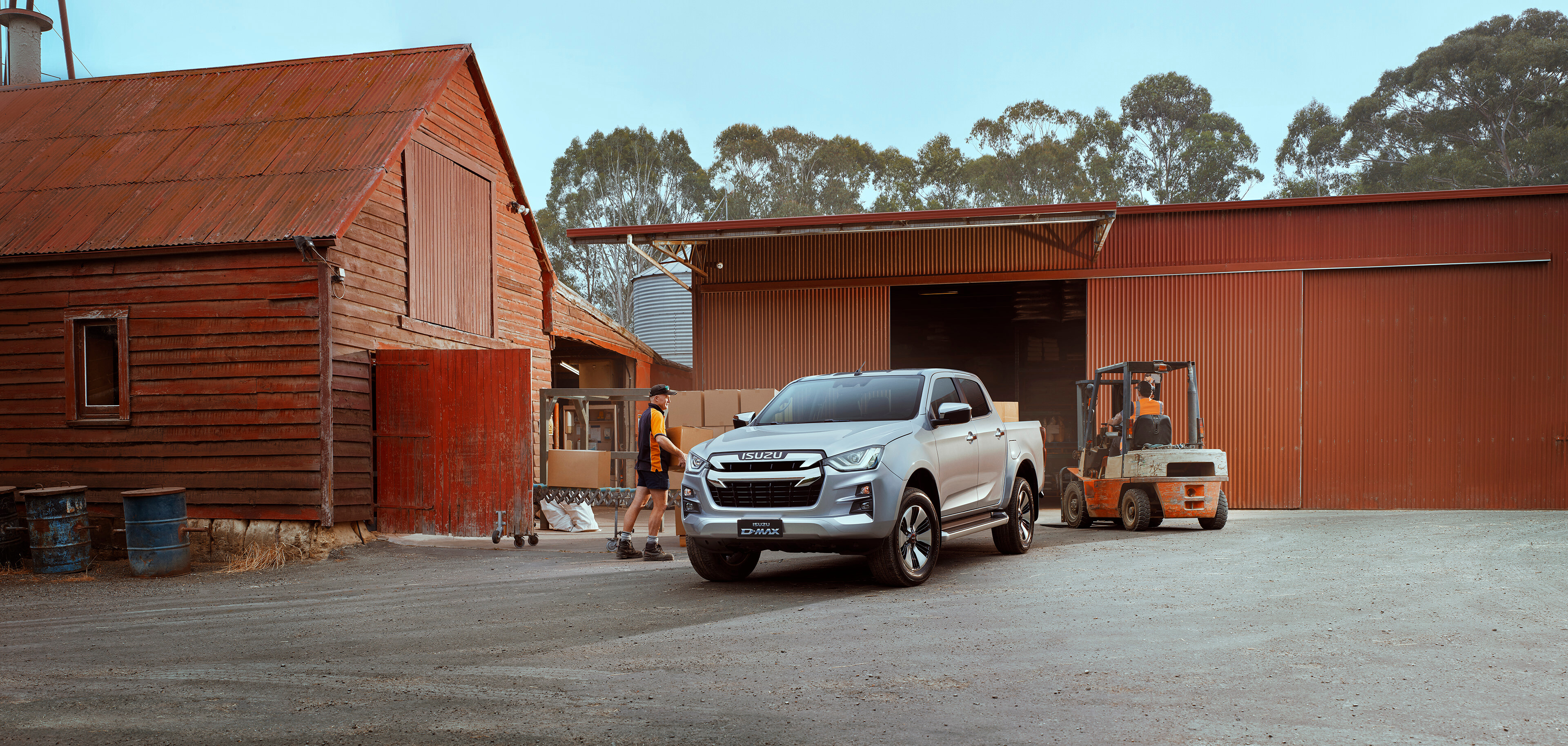 Isuzu D-MAX Individualisierung Pick-Up